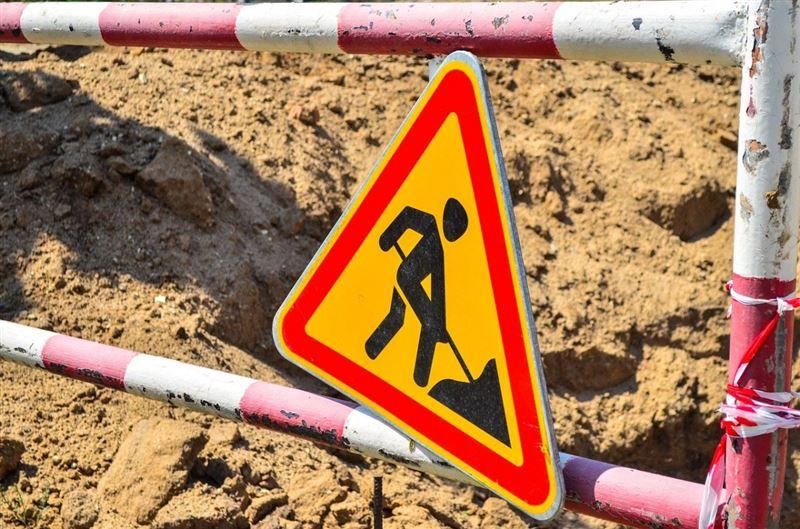 Несколько оживленных улиц перекроют в Алматы из-за ремонта дорог
