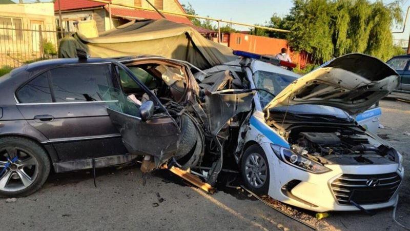 Блокпостағы жол апаты: Тірі қалған полицей оқиғаның қалай болғанын айтып берді