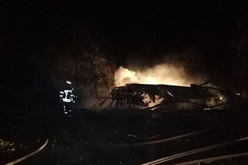 25 человек погибли при крушении самолета в Украине