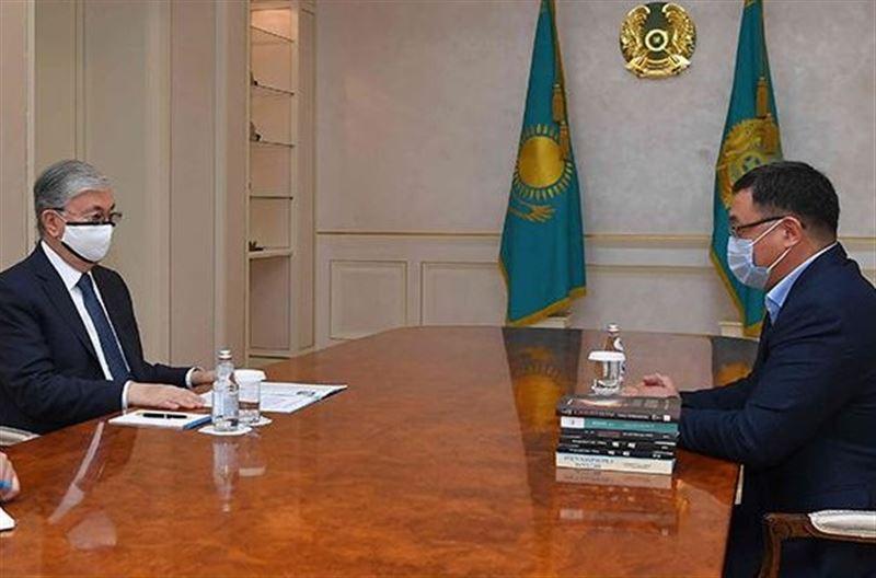 Президент Казахстана обсудил актуальные вопросы с членами Нацсовета общественного доверия