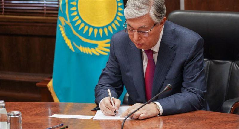 Токаев направил соболезнования Владимиру Зеленскому