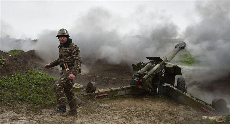 Что сообщается о военных действиях в Нагорном Карабахе