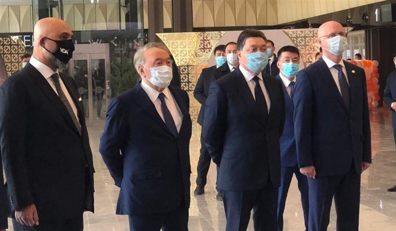 Нурсултан Назарбаев прибыл в Туркестан