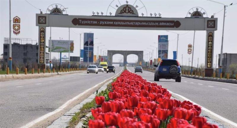 Нұрсұлтан Назарбаев Түркістан қаласына барды