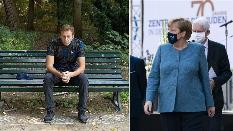 Навальный подтвердил, что к нему приходила Меркель