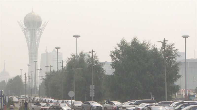 В столице зафиксировано превышение нормы загрязнения воздуха