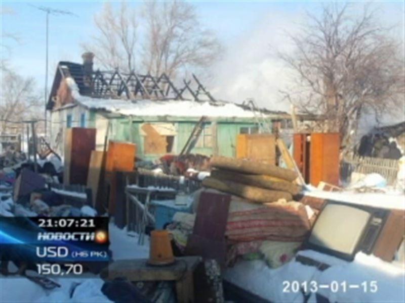 В Северном Казахстане в огне погибли двое маленьких детей
