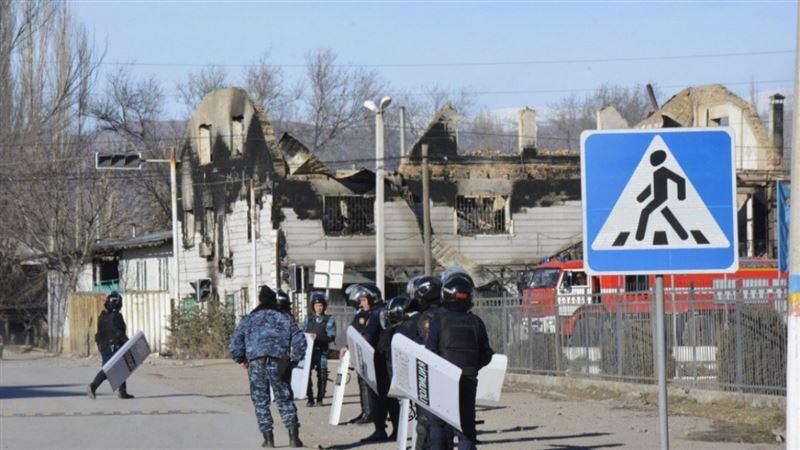 Еще 51 участник беспорядков в Кордае вскоре предстанет перед судом
