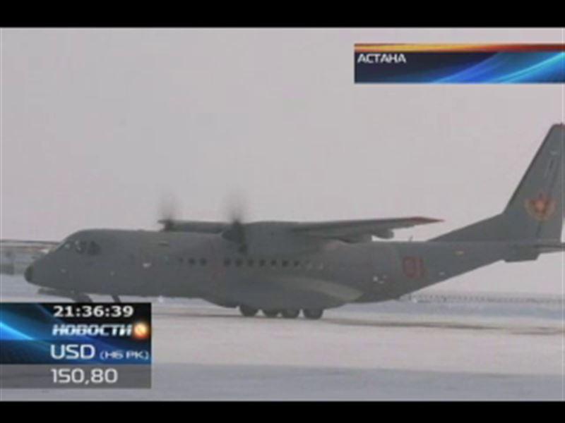 Транспортные самолёты С-295 поступили на вооружение казахстанской армии