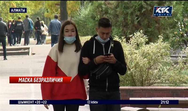 Ученые связали рост заражения COVID-19 с безответственностью казахстанцев