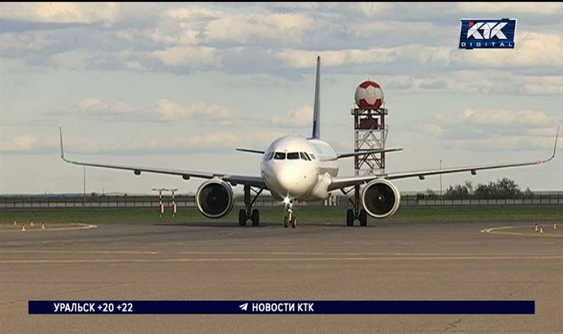 Минздрав сокращает количество авиарейсов из Казахстана