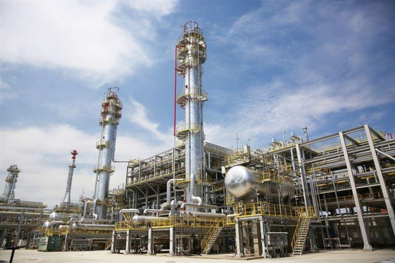 Озвучены подробности пожара на Павлодарском нефтехимическом заводе