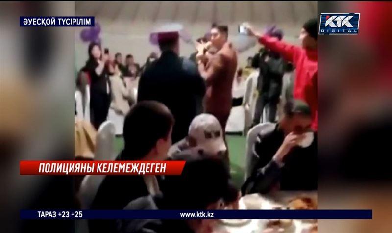 Полиция формасын киген асаба мен той иелері жазаланды – Қарағанды облысы