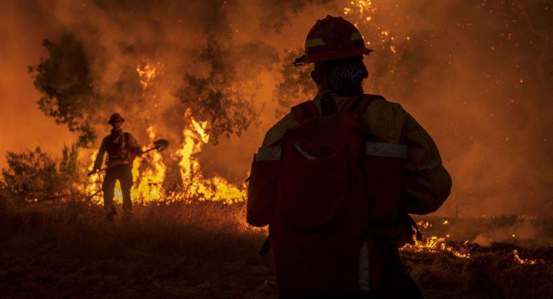 Площадь самого крупного пожара в штате Колорадо превысила 80 тысяч га