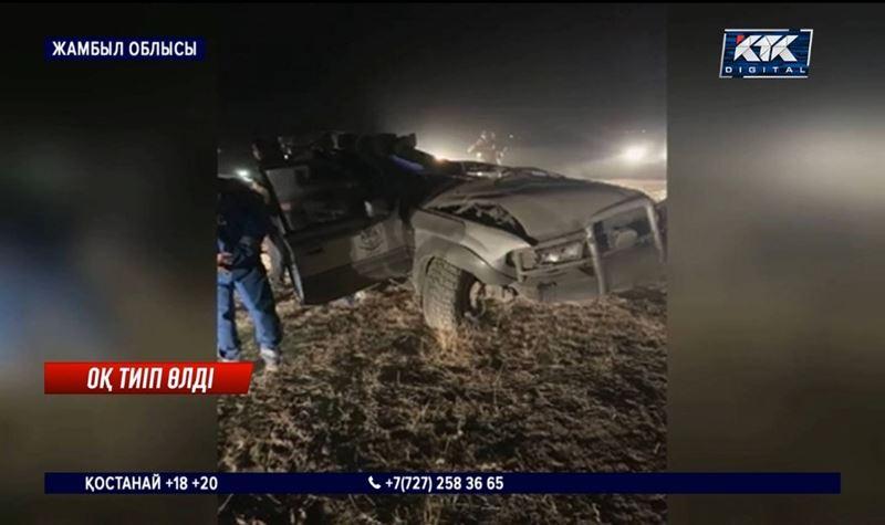 Жамбыл облысы: Полицейлер арасындағы атыста біреуі ажал құшты