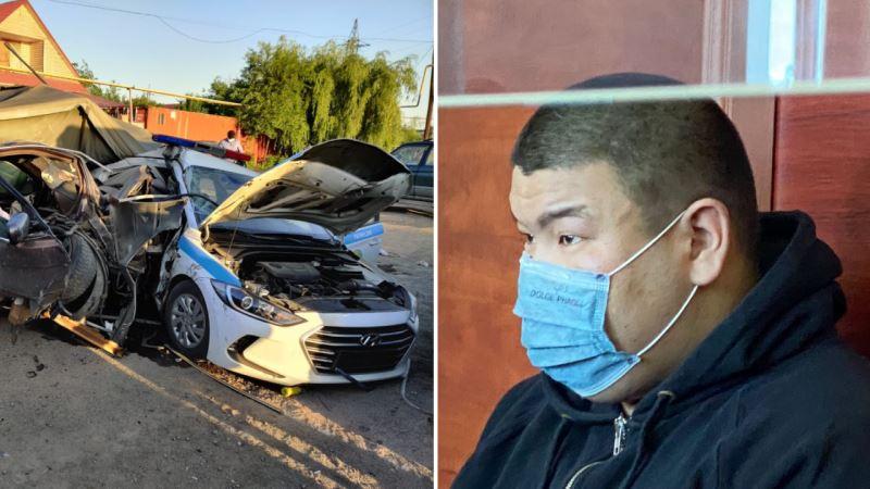 Блокпостағы жол апаты: Экс-полицей 10 жылға сотталды