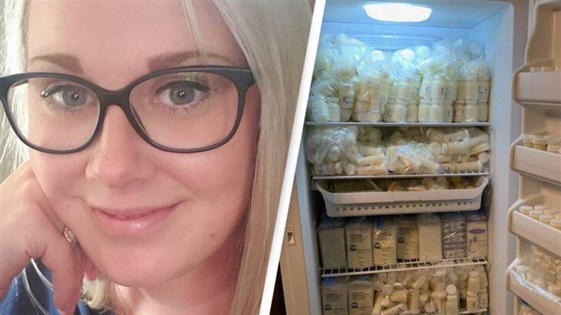 Мать продала неизвестным грудного молока на 20 тысяч долларов