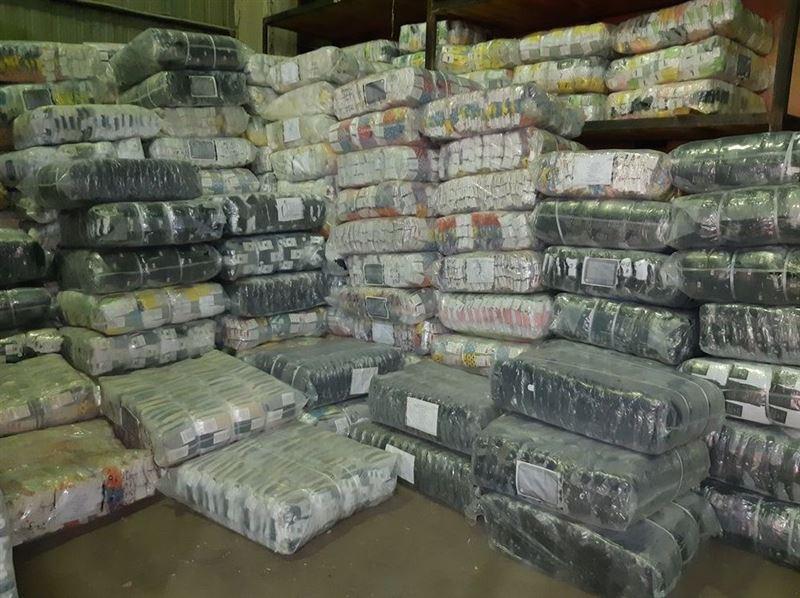 Контрафактные носки на 400 млн рублей едва не вывезли из Казахстана в Россию