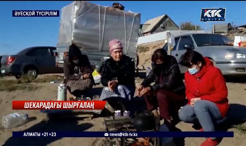 300-ге тарта өзбектер шекарада түнеп жүр – Атырау облысы