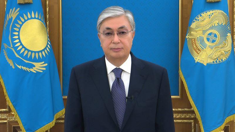 Президент обратился к казахстанцам