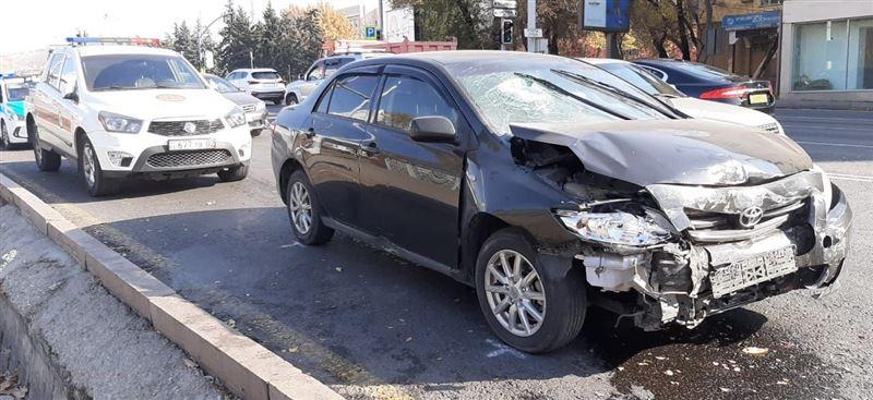 Пассажир пробил головой стекло машины в результате ДТП