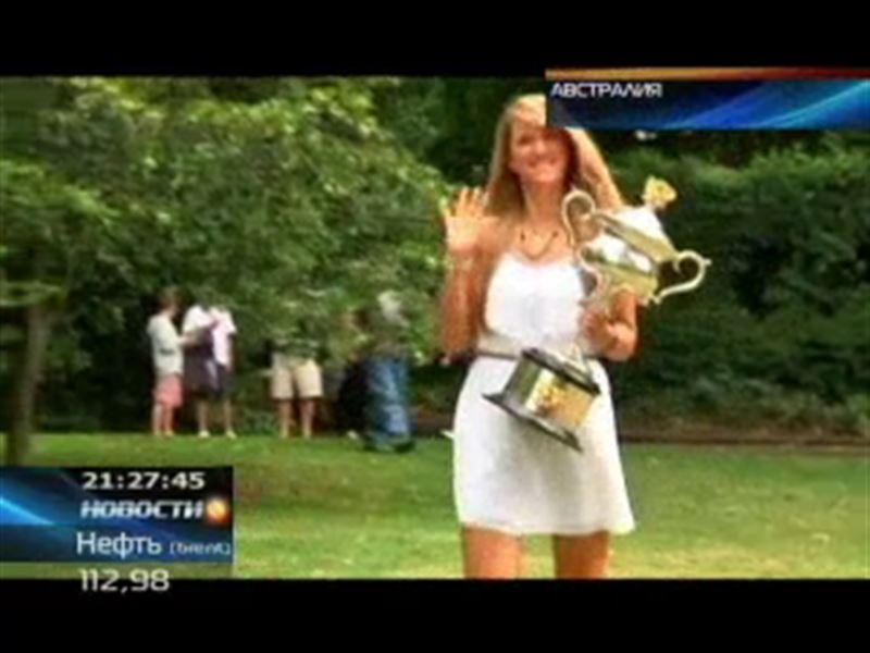 Ярослава Шведова занимает 29 строчку рейтинга Женской теннисной ассоциации