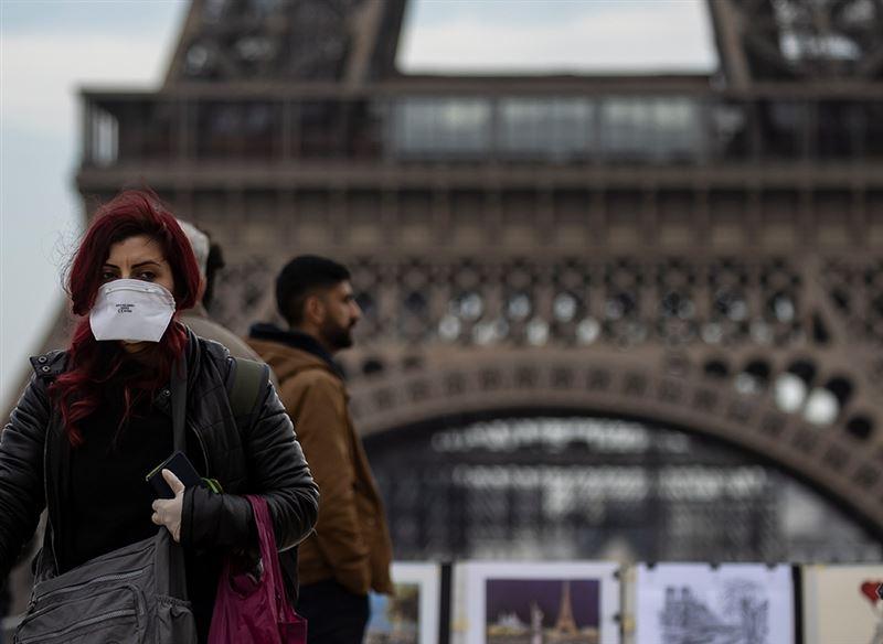 Число зараженных КВИ во Франции превысило миллион