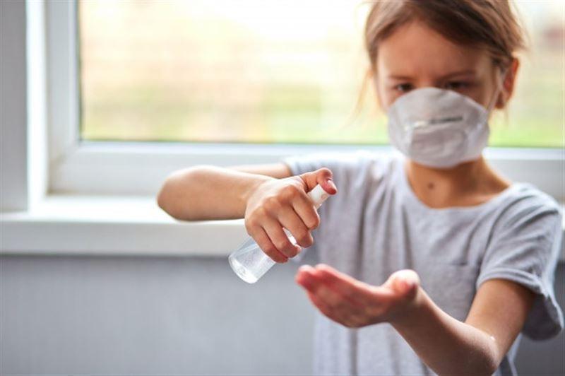 6-летний ребенок получил ожоги лица, играя с антисептиком