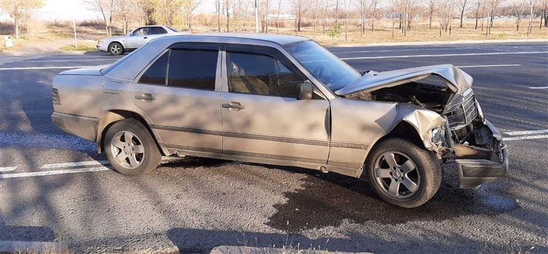 Сердечный приступ спровоцировал аварию в Алматы