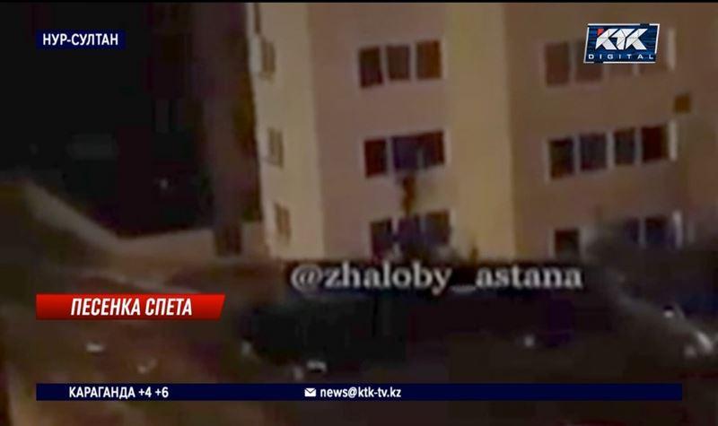Администратор и посетители караоке-бара выпрыгнули со второго этажа, убегая от патруля