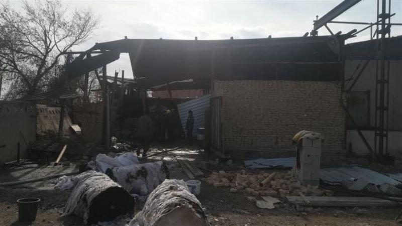 В Алматинской области взорвался цех по производству туалетной бумаги