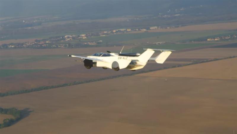 Летающее авто провело тестовый полет