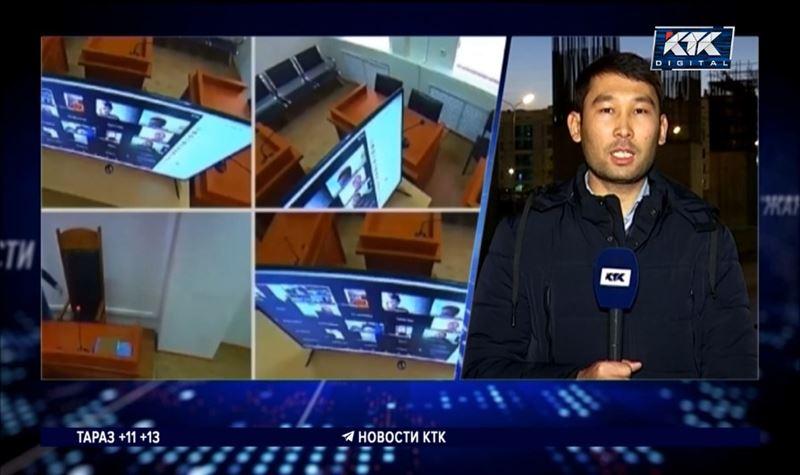 «Астана ЛРТ» құрылысына қатысты сот отырысынан репортаж