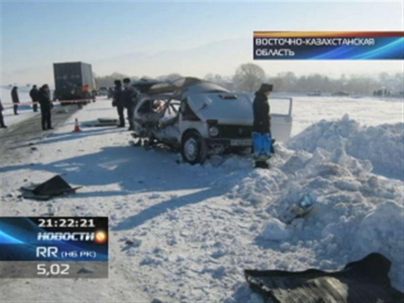В Восточном Казахстане страшная авария унесла жизни сразу пятерых человек!