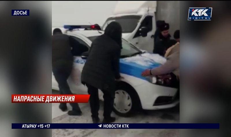 Наказали водителей, которые зимой прорвались через блокпост