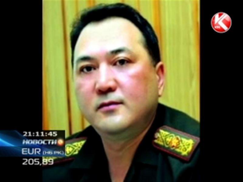 Застрелившийся генерал-майор Талгат Есетов, возможно, оставил предсмертную записку