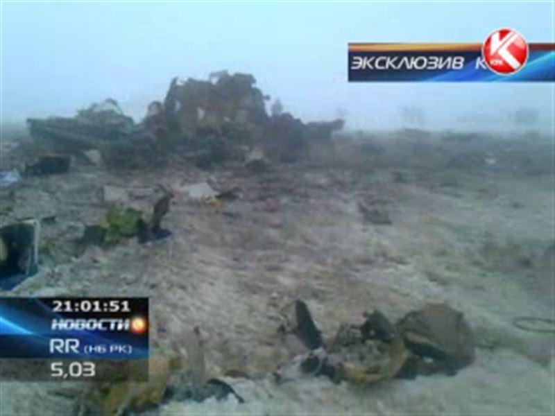 Эксклюзивные кадры с места крушения CRJ-200: первые минуты после авиакатастрофы