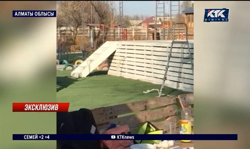 Қожайыны оққа ұшқан демалыс кешенінде бір топ жігіт қырғын салған – Алматы облысы