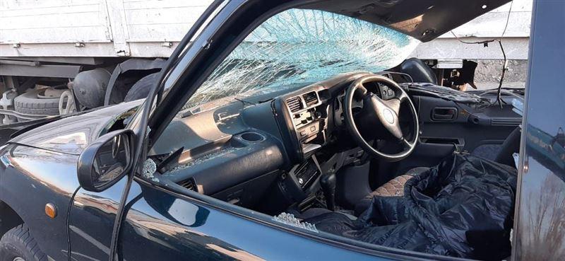 Столкновение легковушки и манипулятора произошло в Алматы