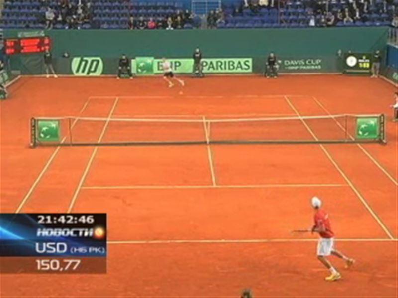 Казахстанские теннисисты вышли в четвертьфинал Кубка Дэвиса