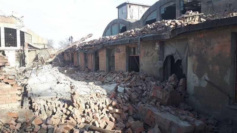 Четверо пострадали в результате обрушения здания в Балхаше