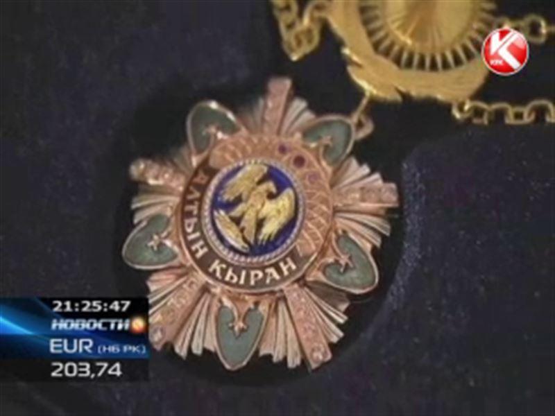 Назарбаев вручил испанскому королю орден «Алтын Кыран»
