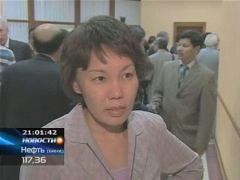 Задержали экс-главу Агентства по статистике Анар Мешимбаеву