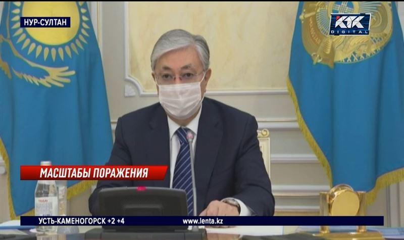Токаев рассказал, в каких регионах скрывают правду о ковиде