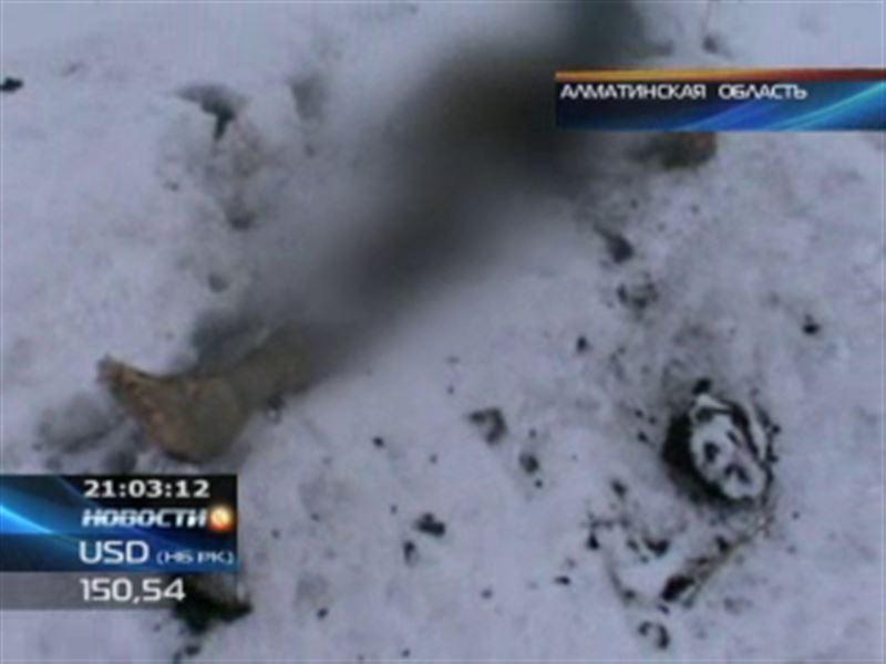 В Алматинской области сын сжёг родного отца и выкинул тело в поле