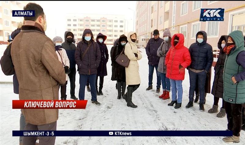 Алматинским очередникам не дают заселиться в купленные квартиры