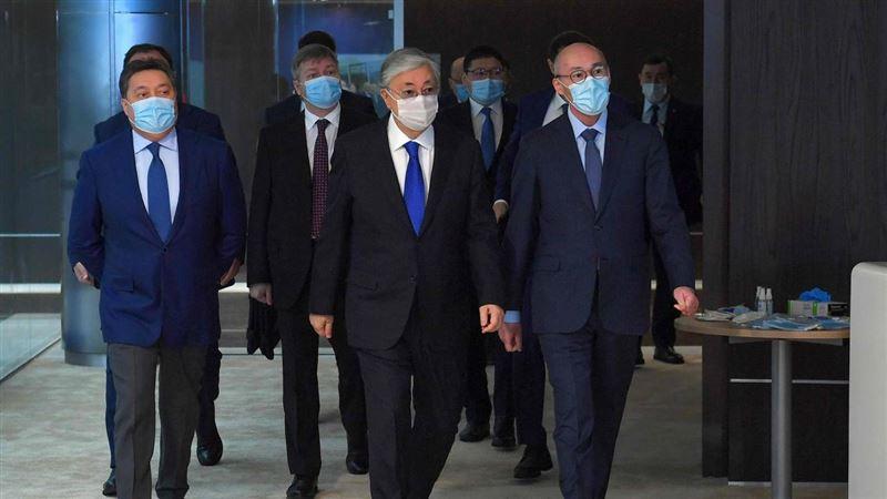 Президент Казахстана встретился с российской делегацией