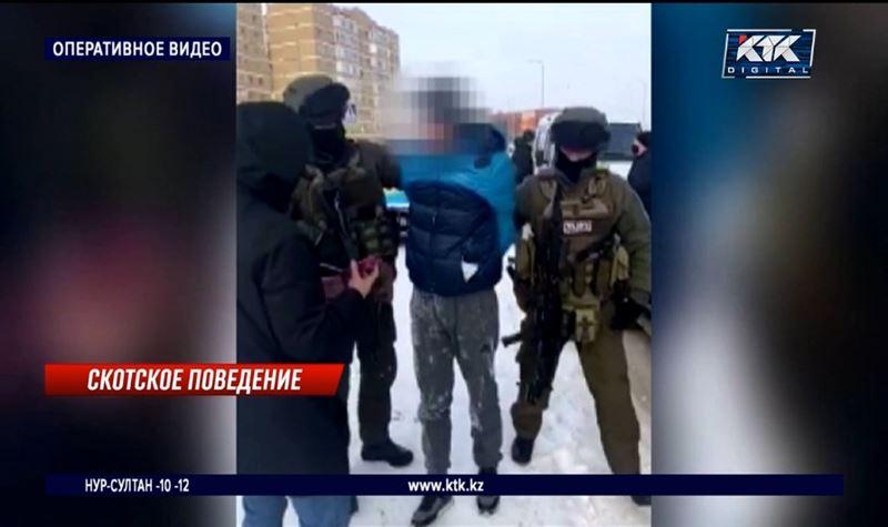 Отстреливали и грузили в машину: в Нур-Султане задержаны барымтачи