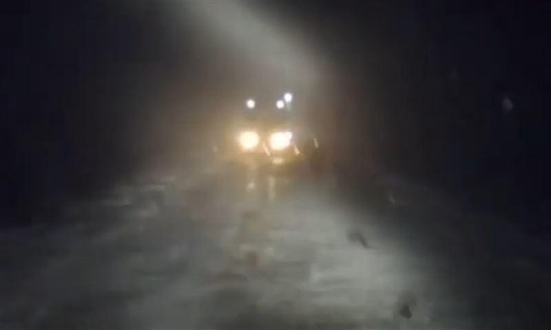 В Алматинской области девять человек спасли из снежных заносов