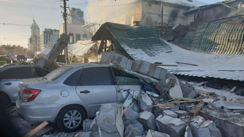 В Нур-Султане в кафе взорвался баллон с газом, погиб один человек